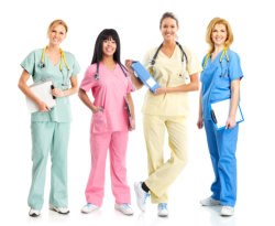 group of nurse